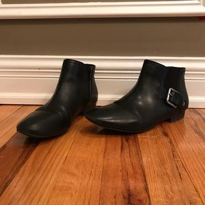 Nine West Black Booties Size 7.5